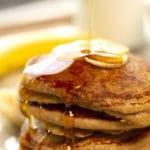 Gluten-Free Banana Oatmeal Pancakes
