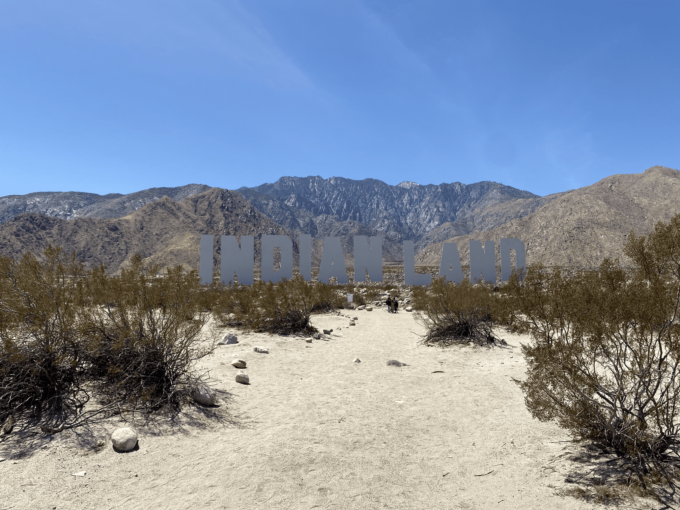 Palm Springs and DesertX